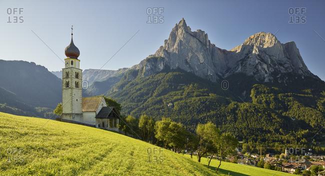 St. Valentin, Schlern, Castelrotto, South Tyrol, Italy