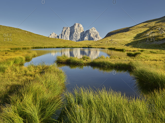 Monte Pelmo, Lago delle Baste, Veneto, Italy