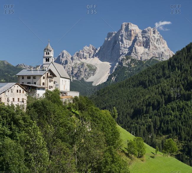 Santa Lucia, Monte Pelmo, Veneto, Italy