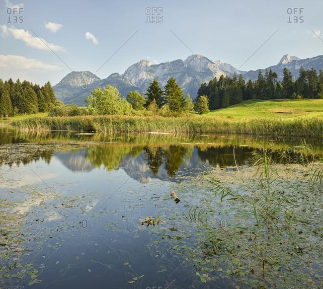 Sunny day in Karawanken, Carinthia, Austria