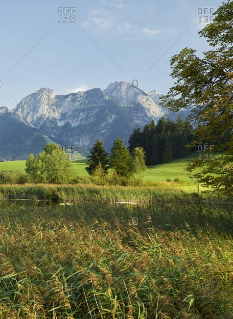 Mountain view in Karawanken, Carinthia, Austria