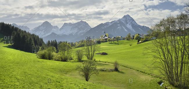 Totes Gebirge, Vorderstoder, Northern Limestone Alps, Upper Austria, Austria