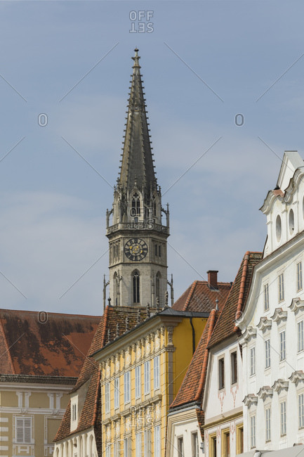 Center of Steyr, Upper Austria, Austria