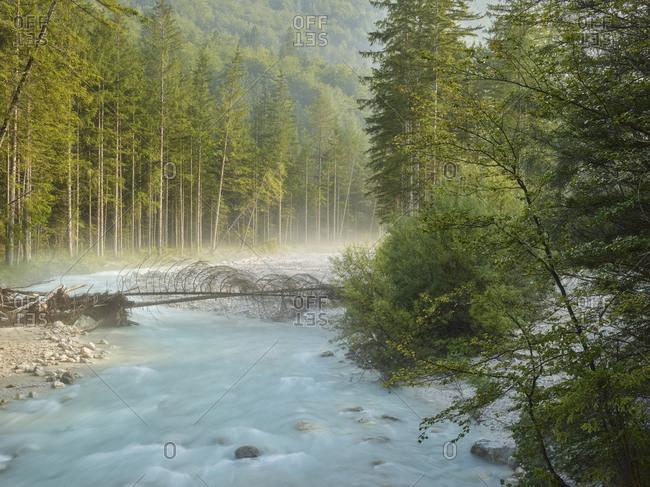 Triglavska Bistrica River, Triglav National Park, Slovenia, Europe