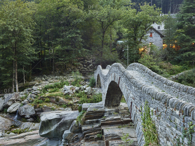 Ponte dei Salti, Verzasca Valley, Ticino, Switzerland