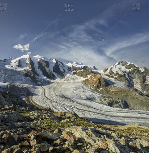 Piz Palu, Pers Glacier, Diavolezza, Graubunden, Switzerland