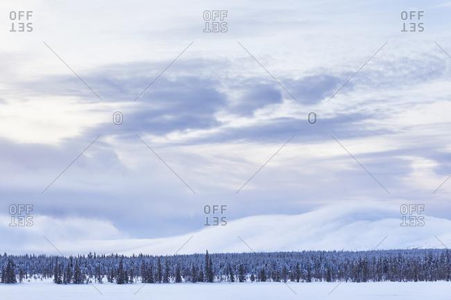Finland, Lapland, Pallastunturi, landscape, mountains