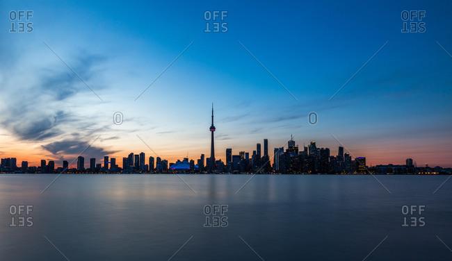 May 11, 2016: Canada, Ontario, Toronto, skyline