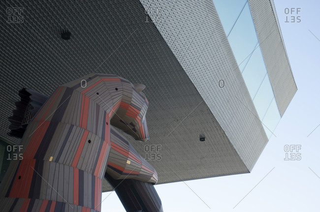 January 3, 2007: Denmark, Aarhus, Dokk 1