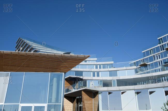 January 3, 2007: Denmark, Aarhus Ost, architecture
