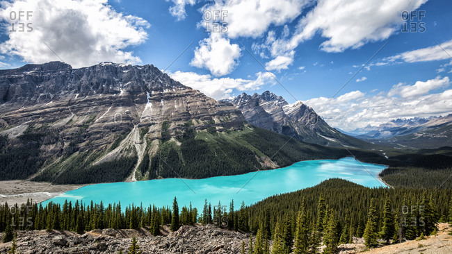 Canada, Alberta, Banff National Park, Icefields Parkway, Peyto Lake