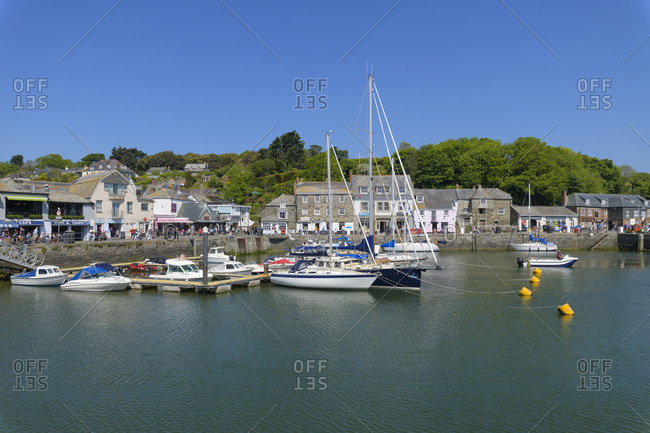 May 23, 2018: Harbor, Padstow, Cornwall, South West England, England, United Kingdom, Europe