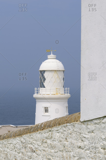 Pendeen Watch Lighthouse, St Just, Penzance, Cornwall, South West England, England, United Kingdom, Europe