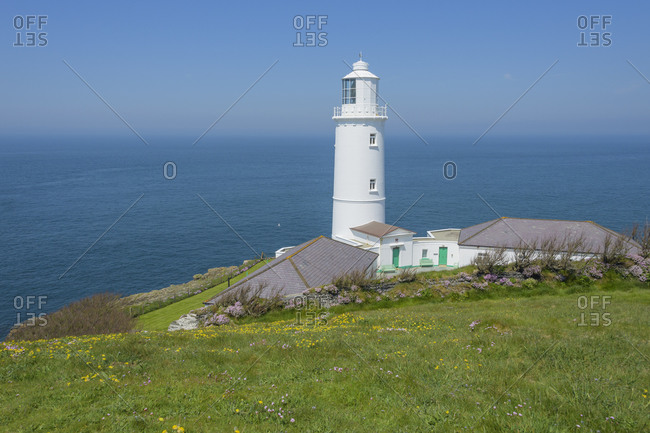 Trevose Head Lighthouse, Padstow, Cornwall, South West England, England, United Kingdom, Europe