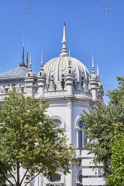 Palacete Ribeiro da Cunha in the Principe Real area of Lisbon, Portugal
