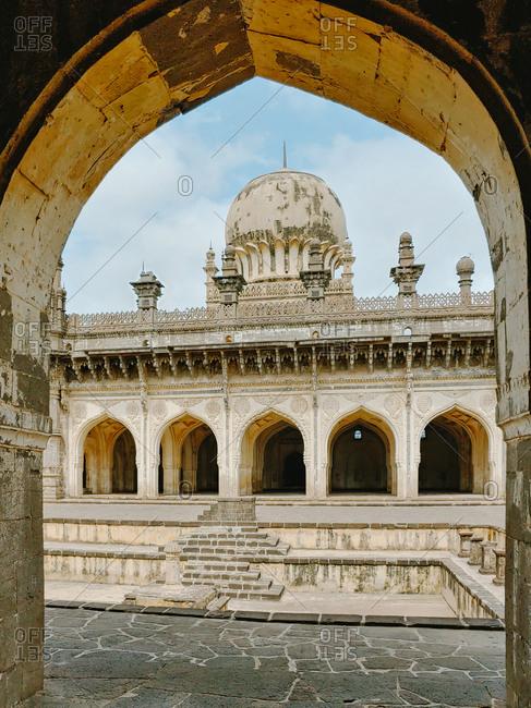 India, karnataka, hampi, towards temple