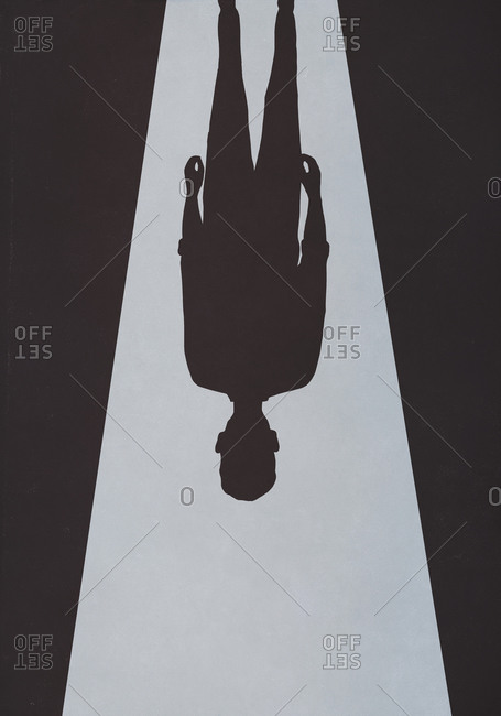 Ominous upside down shadow - Offset