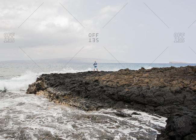 Hookipa Beach, Maui, Hawaii - Offset