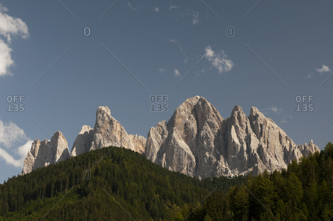 Odle Group, Funes Valley (Villnoss), Dolomites, Trentino Alto Adige, South Tyrol, Italy