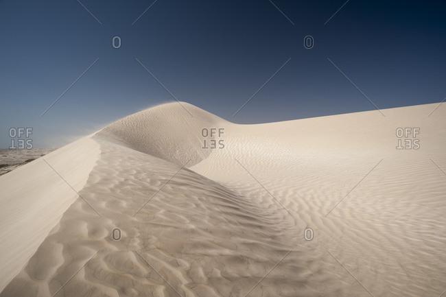 Sand dunes, Khaluf desert, Oman