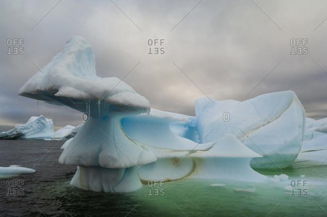 Iceberg near Pleneau Island, Lemaire Channel, Antarctica, Antarctic Peninsula