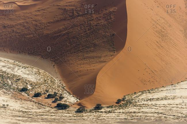 Aerial view of Namib Desert, Namibia