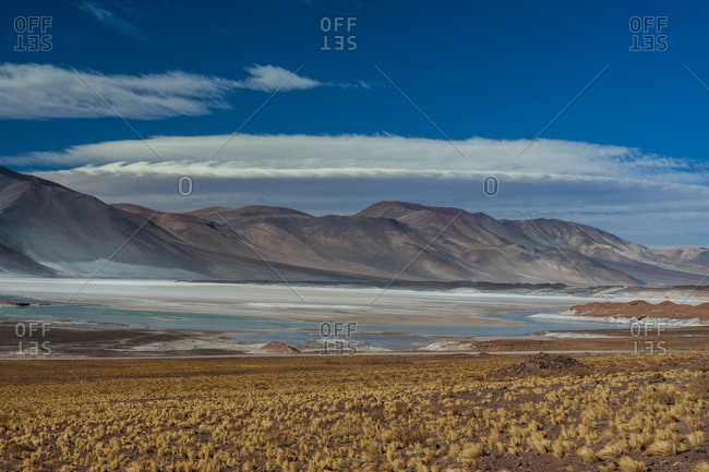 Salar de Talar salt pan, Atacama Desert, Antofagasta Region, Chile