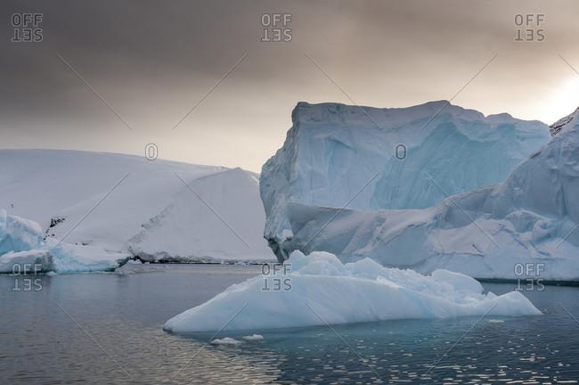 Iceberg, Skontorp Cove, Paradise Bay, Antarctica