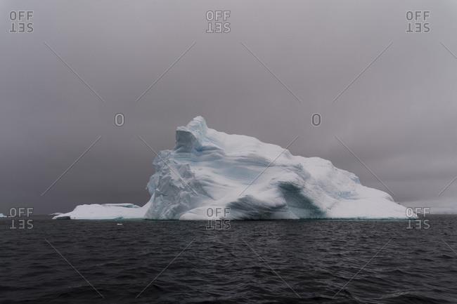 Icebergs in Portal Point, Antarctica