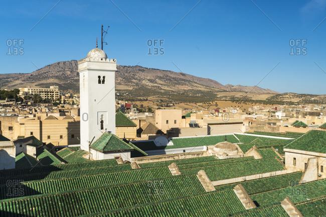 Morocco- Fez- Mosque and University Karaouiyn in Medina