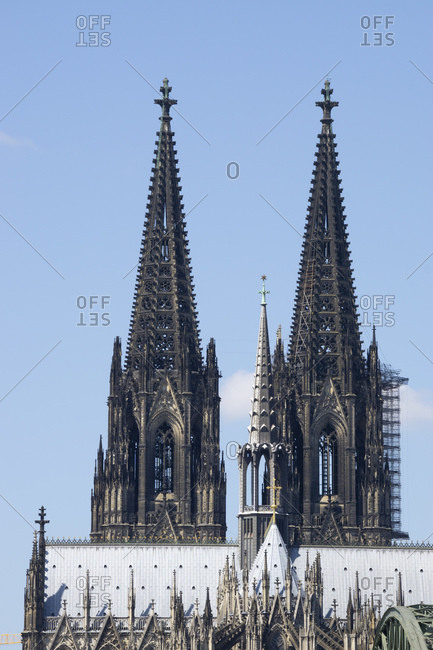 Germany- North Rhine-Westphalia- Rhineland- Cologne- Cologne Cathedral