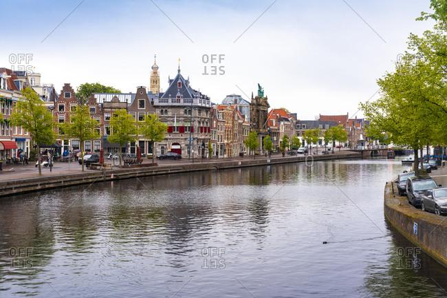 Netherlands- North Holland- Haarlem- BinnenSparnecanal