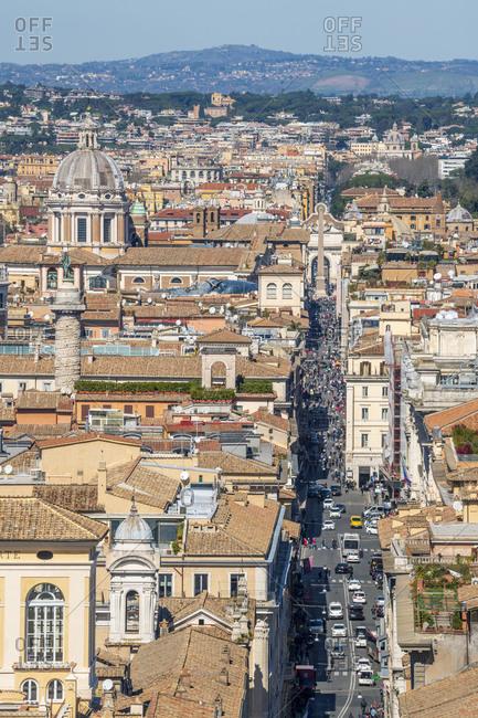 March 14, 2019: Via del Corso, Rome, Lazio, Italy, Europe