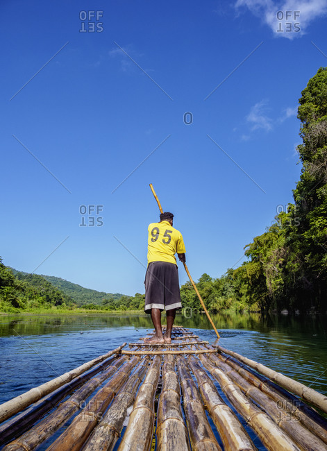 February 21, 2020: Rio Grande Rafting, Portland Parish, Jamaica, West Indies, Caribbean, Central America