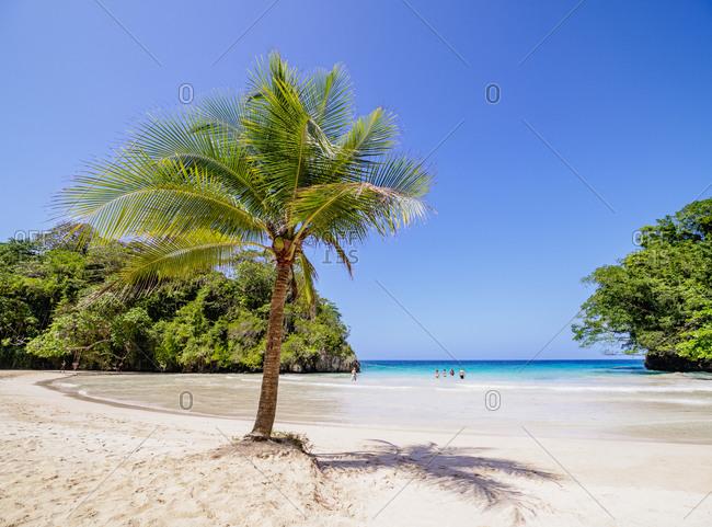 Frenchman's Cove Beach, Portland Parish, Jamaica, West Indies, Caribbean, Central America