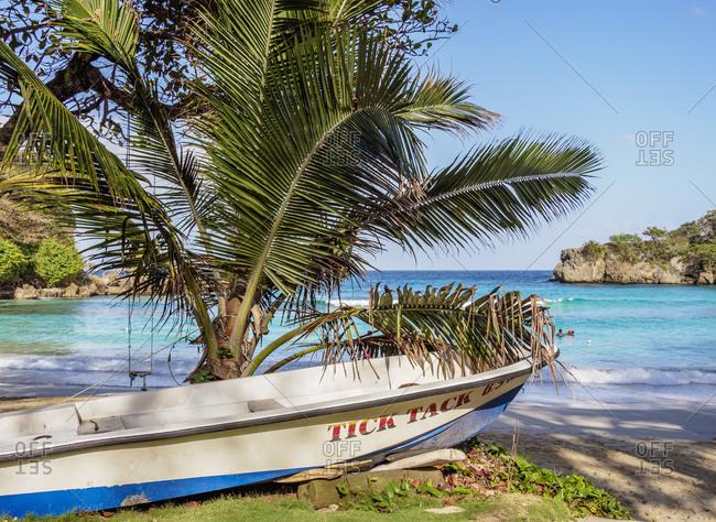 February 21, 2020: Boston Beach, Lynches Bay, Portland Parish, Jamaica, West Indies, Caribbean, Central America