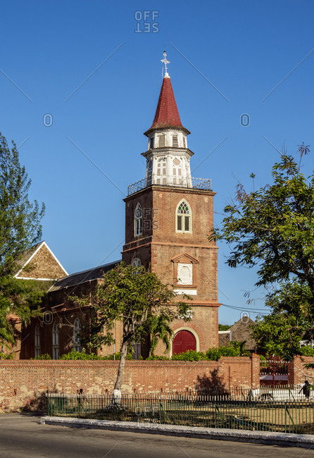 Cathedral of St. Jago De La Vega, Spanish Town, Saint Catherine Parish, Jamaica, West Indies, Caribbean, Central America