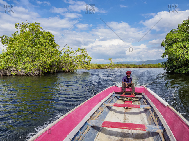 March 1, 2020: Black River Safari, Saint Elizabeth Parish, Jamaica, West Indies, Caribbean, Central America