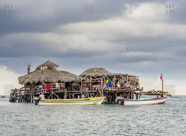 March 1, 2020: Floyd's Pelican Bar, Saint Elizabeth Parish, Jamaica, West Indies, Caribbean, Central America