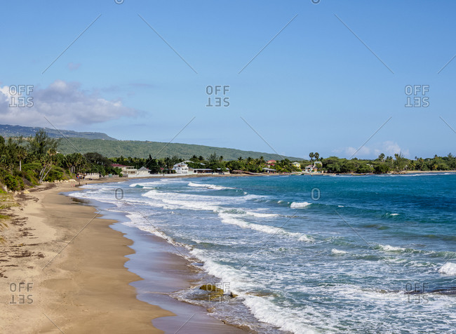 Frenchman's Beach, Treasure Beach, Saint Elizabeth Parish, Jamaica, West Indies, Caribbean, Central America
