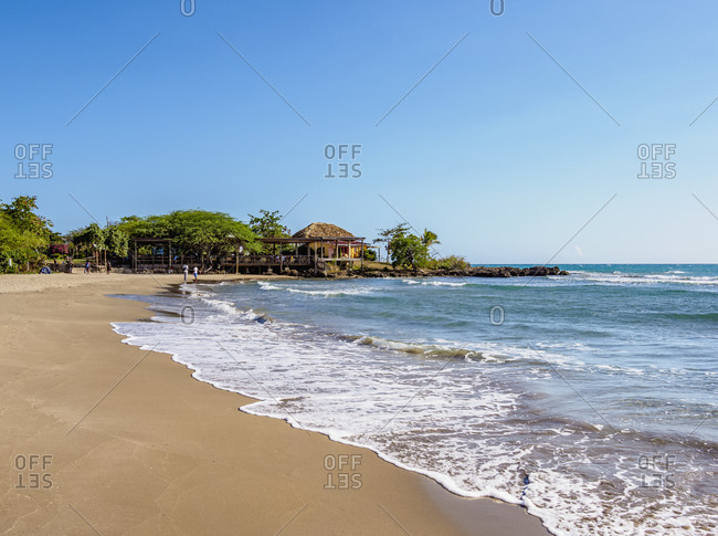 Jack Sprat Beach, Treasure Beach, Saint Elizabeth Parish, Jamaica, West Indies, Caribbean, Central America