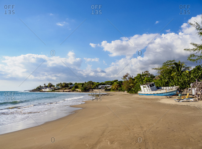 March 3, 2020: Calabash Beach, Treasure Beach, Saint Elizabeth Parish, Jamaica, West Indies, Caribbean, Central America