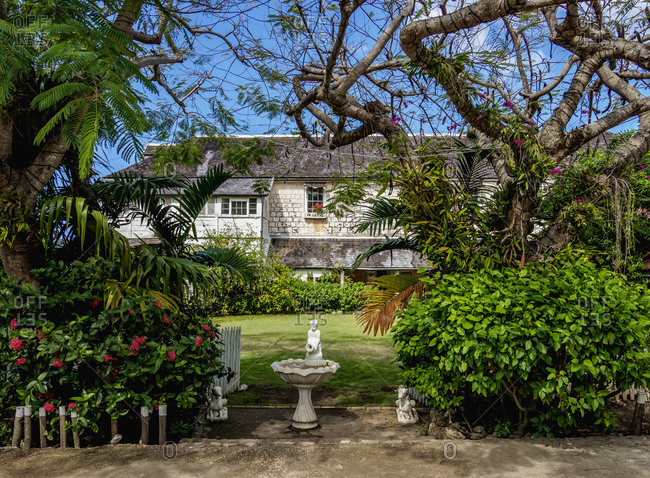 February 26, 2020: Greenwood Great House, Saint James Parish, Jamaica, West Indies, Caribbean, Central America