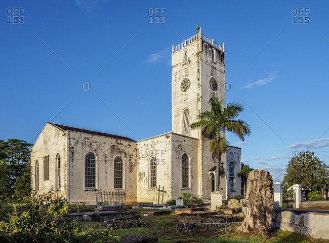 St. Peter's Anglican Church, Falmouth, Trelawny Parish, Jamaica, West Indies, Caribbean, Central America