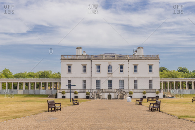 June 2, 2020: Queens House, UNESCO World Heritage Site, Greenwich, London, England, United Kingdom, Europe