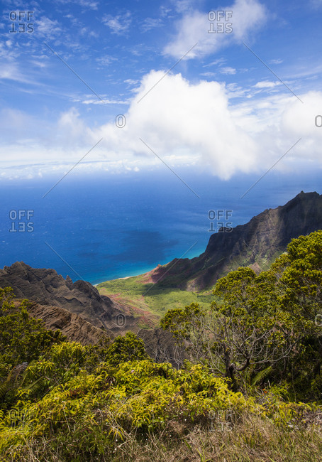 Na Pali Cliffs, Kauai, Hawaii