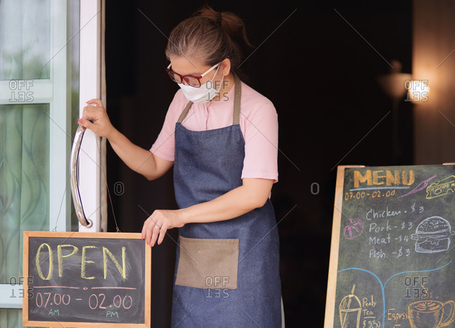 Small business back to open again during COVID-19 disease