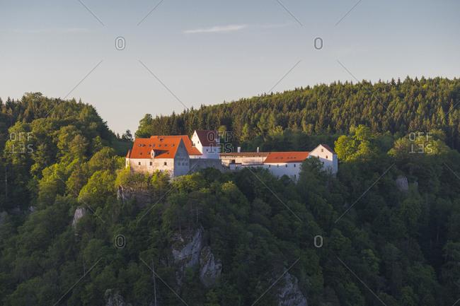 Castle Burg Wildenstein, Oberes Donautal (Upper Danube valley), Beuron, Leibertingen, Swabian Alb, Swabian Jura, Baden-Wurttemberg, Germany