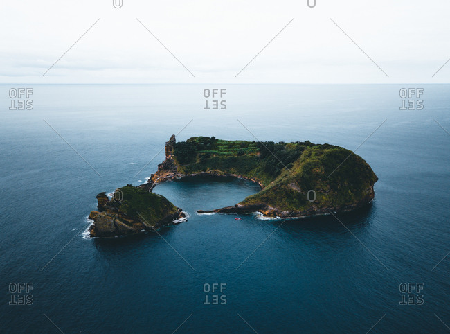 Azores, Sao Miguel, Islet of Vila Franca do Campo
