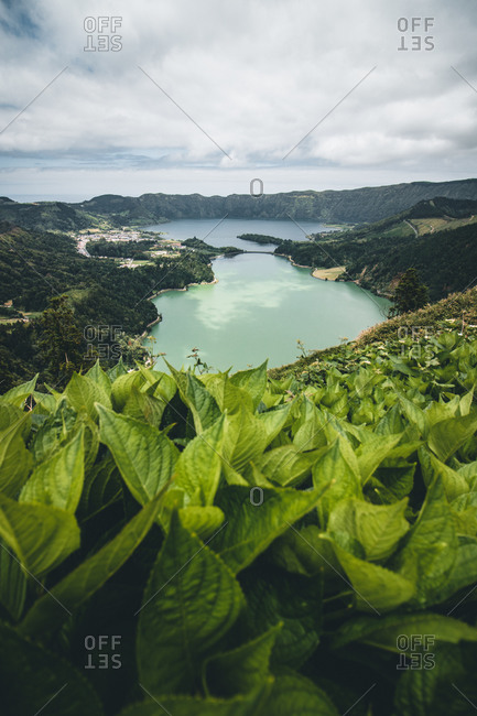 Azores, Sao Miguel, Sete Cidades